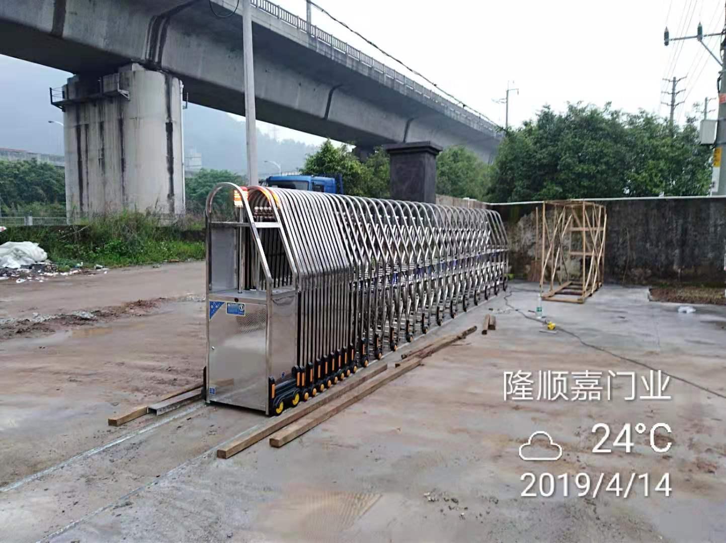 不锈钢伸缩门(2)