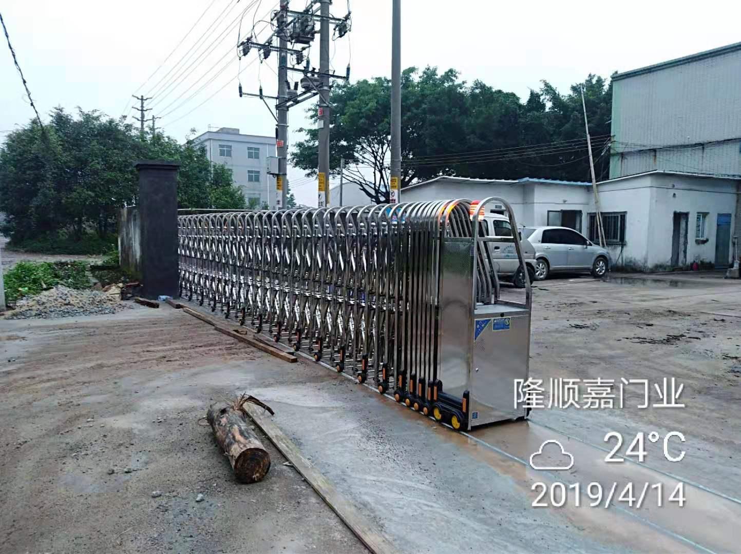 不锈钢伸缩门(3)